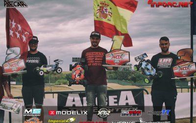 Robert Batlle se lleva la segunda prueba del Campeonato de España 1/8 TT Gas 2018