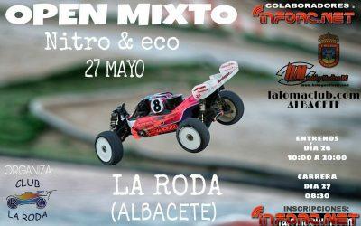 27 de Mayo - Open mixto nitro y eléctrico en La Roda, Albacete