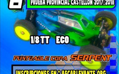 20 de Mayo - Octava prueba provincial de Castellón 1/8 TT-E