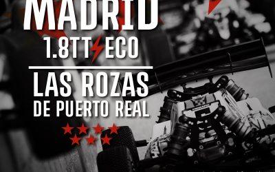 12 y 13 de Mayo - Segunda prueba del Regional de Madrid 1/8 TT-E en Las Rozas