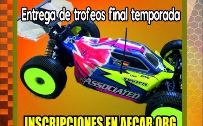 3 de Junio - Sexta prueba del Campeonato del Levante 1/8 TT-E