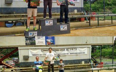 Resultados de la prueba del Campeonato de Euskadi en Ospas Gain