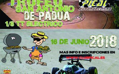 16 de Junio - Primer trofeo San Antonio de Padua en Pical RC