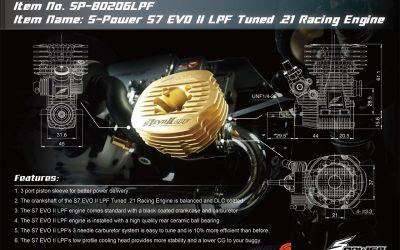 Nuevo motor S-Power S7 EVO II LPF Tuned .21