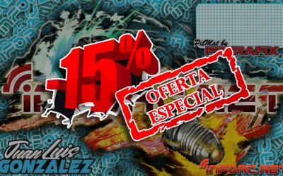 15% de descuento en tapetes FRGrafix si pides la edición especial infoRC