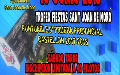 16 de Junio - Trofeo Fiestas de Sant Joan de Moro