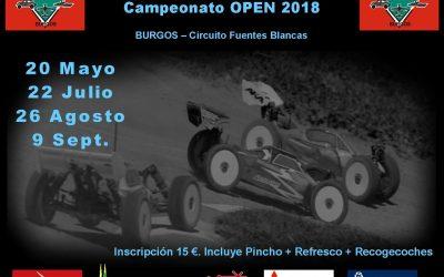 22 de Julio - Segunda prueba Campeonato 1/8 TT Electric Xperience 2018