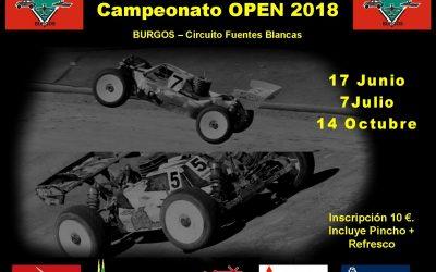 7 de Julio Segunda prueba Campeonato 1/8 TT Nitro Power 2018