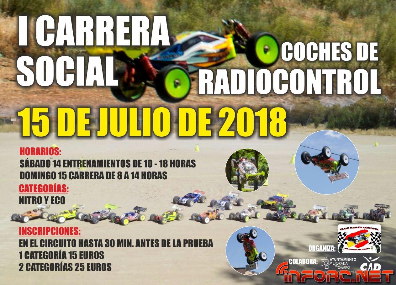 Circuito Jumilla : 15 de julio u2013 primera carrera social en club rc mejorada inforc.net