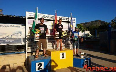 Alejandro Perez y Juan Carlos Canas, ganadores de la segunda prueba del Camp. de Málaga nitro y eléctrico