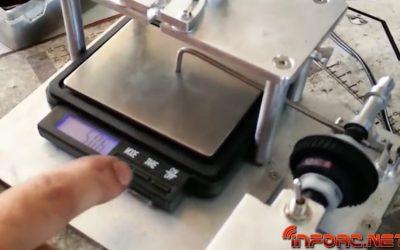 """Video - Conociendo """"la maquinita"""", comprobador de diferenciales y muelles de fabricación nacional"""