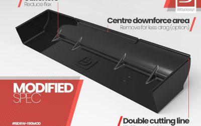 Bittydesign presenta su alerón rígido para TC 190mm