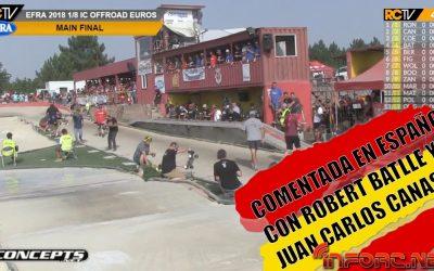 Video - Final Euro 2018 comentada en Español con Juan Carlos Canas y Robert Batlle