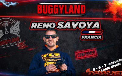 ¡Reno Savoya confirmado para Buggyland 2018! ¿A qué esperas para inscribirte?