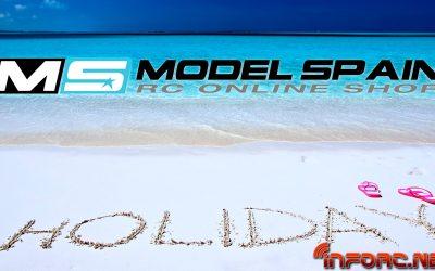 Vacaciones en Modelspain ¡Tienes hasta el Lunes para hacer tu pedido!