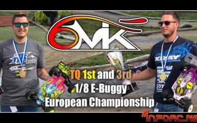 6mik arrasa en el Euro 1/8 TT E con pole, victoria y tercer puesto