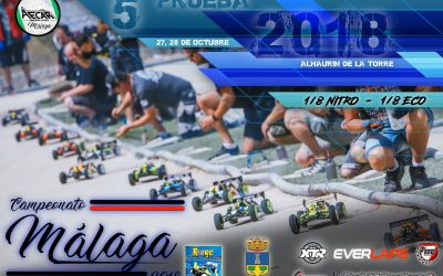 27 y 28 de Octubre - Última prueba del Campeonato de Málaga 1/8 off road
