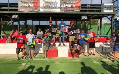 Miguel Angel Trillo, Campeón de Andalucia 1/8 TT-E. Crónica de la última prueba en Palos