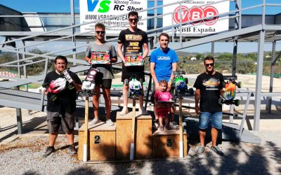 Resultados - Primera prueba provincial de Castellon 1/8 TT-E 2018/19