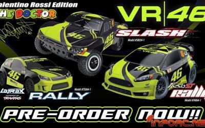 Nueva gama Traxxas Valentino Rossi Edition ya disponible para reservar en Modelspain