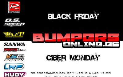 Black Friday en Bumpers Online