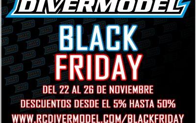Black Friday en Divermodel ¡Ofertas del 5 al 50%!