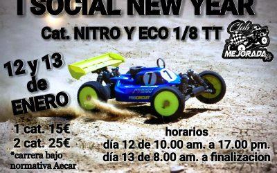 12 y 13 de Enero - I Social New Year en Club RC Mejorada