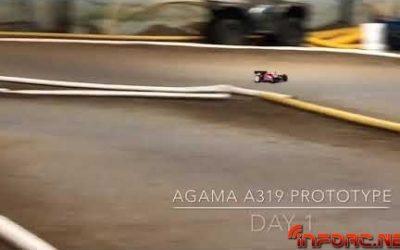 Video - Ryan Lutz pilotando el Agama A319 prototipo en Indy RC