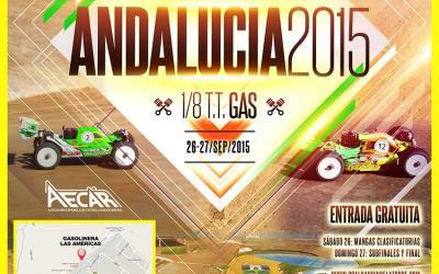 Agradecimiento a las empresas colaboradoras del Campeonato de Andalucía 1/8 TT Gas 2015