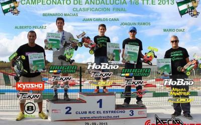 Finaliza el Campeonato de Andalucía 1/8 TT eléctrico. Resultados.