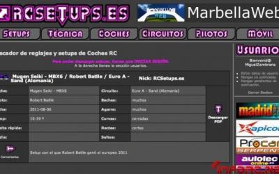 Setup de Batlle en el Europeo, ya en RCSetups.es