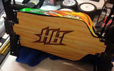 El chasis de madera de David Ronnefalk