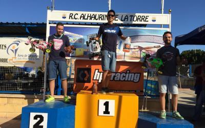 Ignacio Candel se lleva la prueba y Juanma Vera el Campeonato de Andalucía 1/8 tt gas 2015