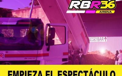 RBR36 Arena - Comienzan las remodelaciones