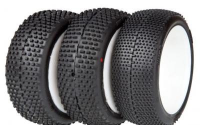 Más detalles de los neumáticos RB