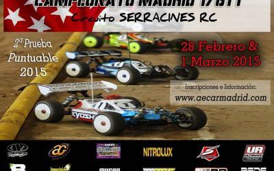 Este finde: segunda prueba del Campeonato Regional Madrid 1/8TT