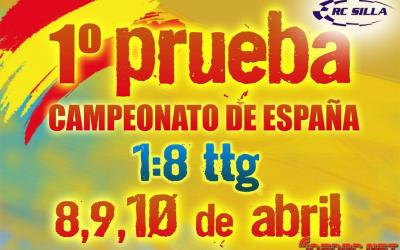 Este fin de semana ¡Comienza el Campeonato de España 1/8 TT Gas 2016 en Silla!