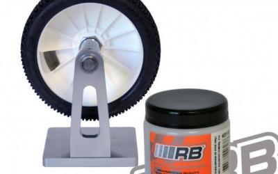 Goma RB para equilibrar ruedas