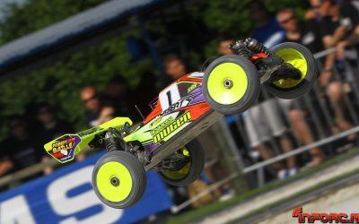 Martes en el Campeonato de Europa 1/8 TT en Reims