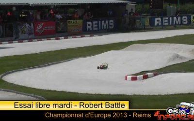Miercoles en el Campeonato de Europa 1/8 TT en Reims