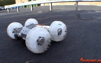 Sand Flea, un vehiculo explorador sin barreras