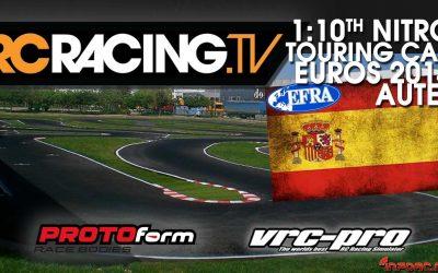 Sigue el Europeo 1/10 Pista con vídeo en directo con RC Racing TV
