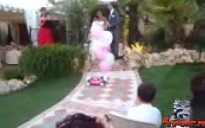 Una boda muy original, felicidades Antonio Gamez