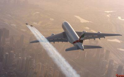 Vídeo de los Viernes - Dos jetpacks y un Airbus, sobre el cielo de Dubai
