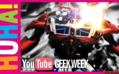 Vídeo de los Viernes: Optimus Prime Vs Batmovil Vs Delorean