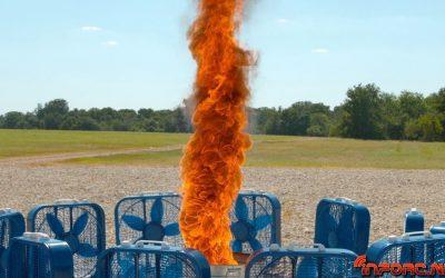 Video de los Viernes: Tornado de fuego a camara superlenta. Supera eso.