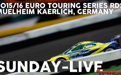 Video en directo - Último día en la Yokomo Euro Touring Series Rd2