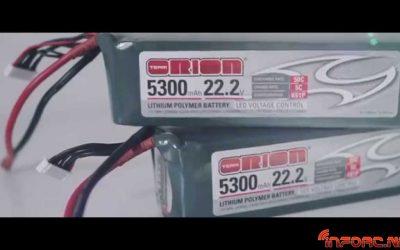 Video: Nuevas baterías Team Orion con indicador LED de carga