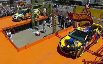 X games 2012 Hot wheels double dare loop